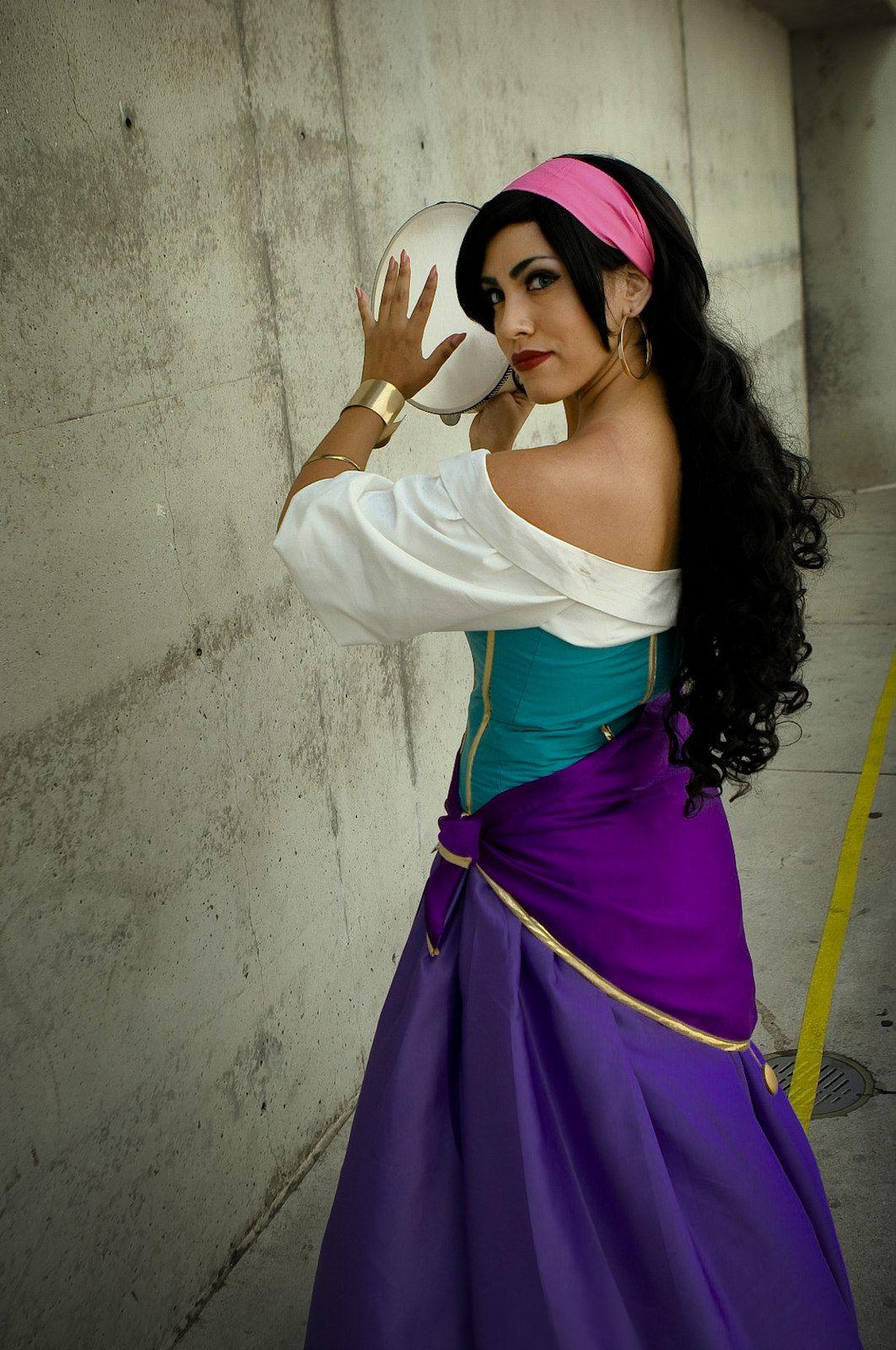 Esmeralda (The Hunchback of Notre Dame) #AnimeExpo2015. Disney Princess CosplayDisney CosplayGypsy ...  sc 1 st  Pinterest & Anime Expo 2015: Esmeralda (The Hunchback of Notre Dame) | Cosplay ...