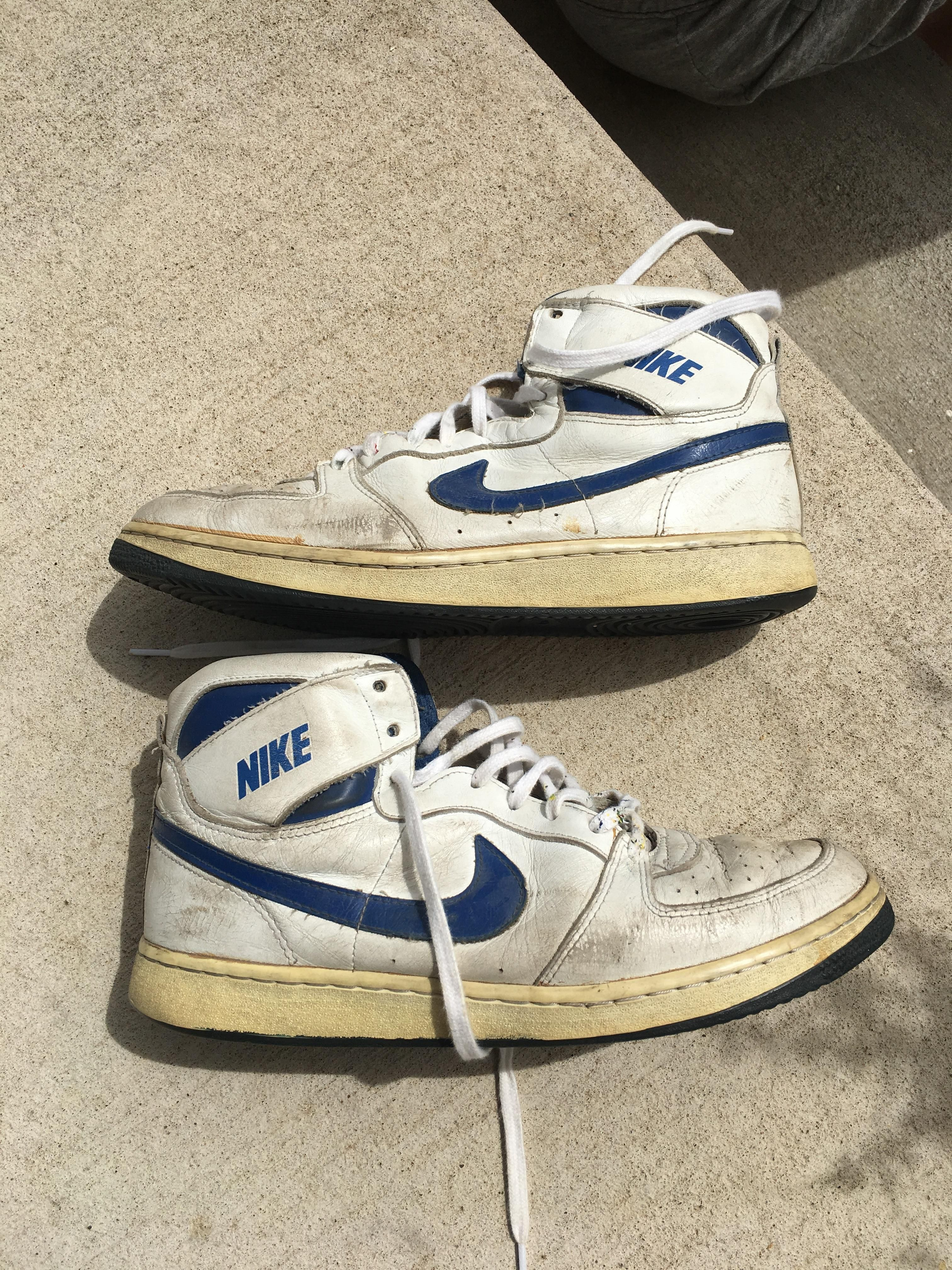 80s shoes, Nike high tops, Classic sneakers