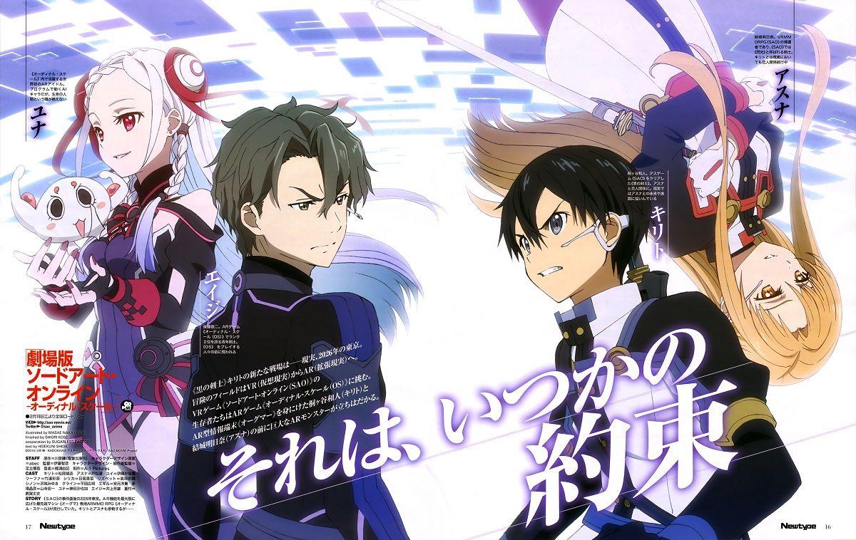 Ranking de popularidad de personajes y anime en la edición de abril de la revista newtype
