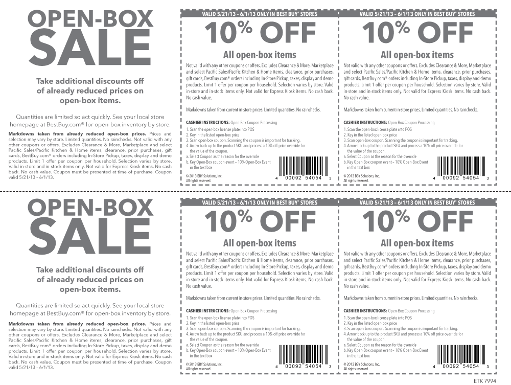 Pinned May 26th Extra 10 Off Open Box Items At Best Buy Coupon Via The Coupons App Best Buy Coupons Cool Things To Buy Buy Coupons