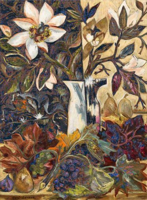 Natalia Goncharova, Autumn Colors on ArtStack #natalia-goncharova-natal-ia-sierghieievna-goncharova #art