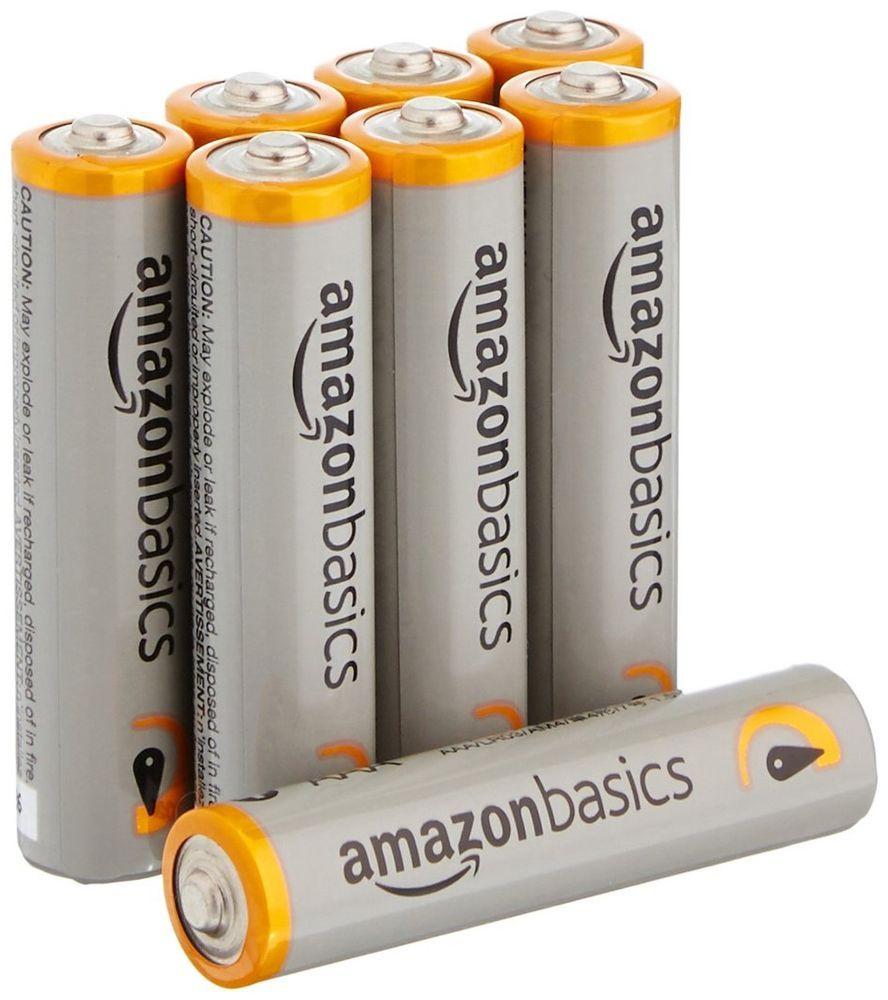Amazonbasics Aaa Performance Alkaline Batteries 8 Pack Packaging May Vary Amazonbasics 8pack Alkaline Battery Batteries Battery Sizes