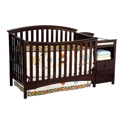 Delta Delaney Crib N Changer Dark Chocolate Delta