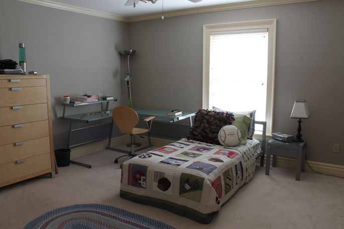 Bedroom Progress And A Wallpaper Lesson Greige Paint