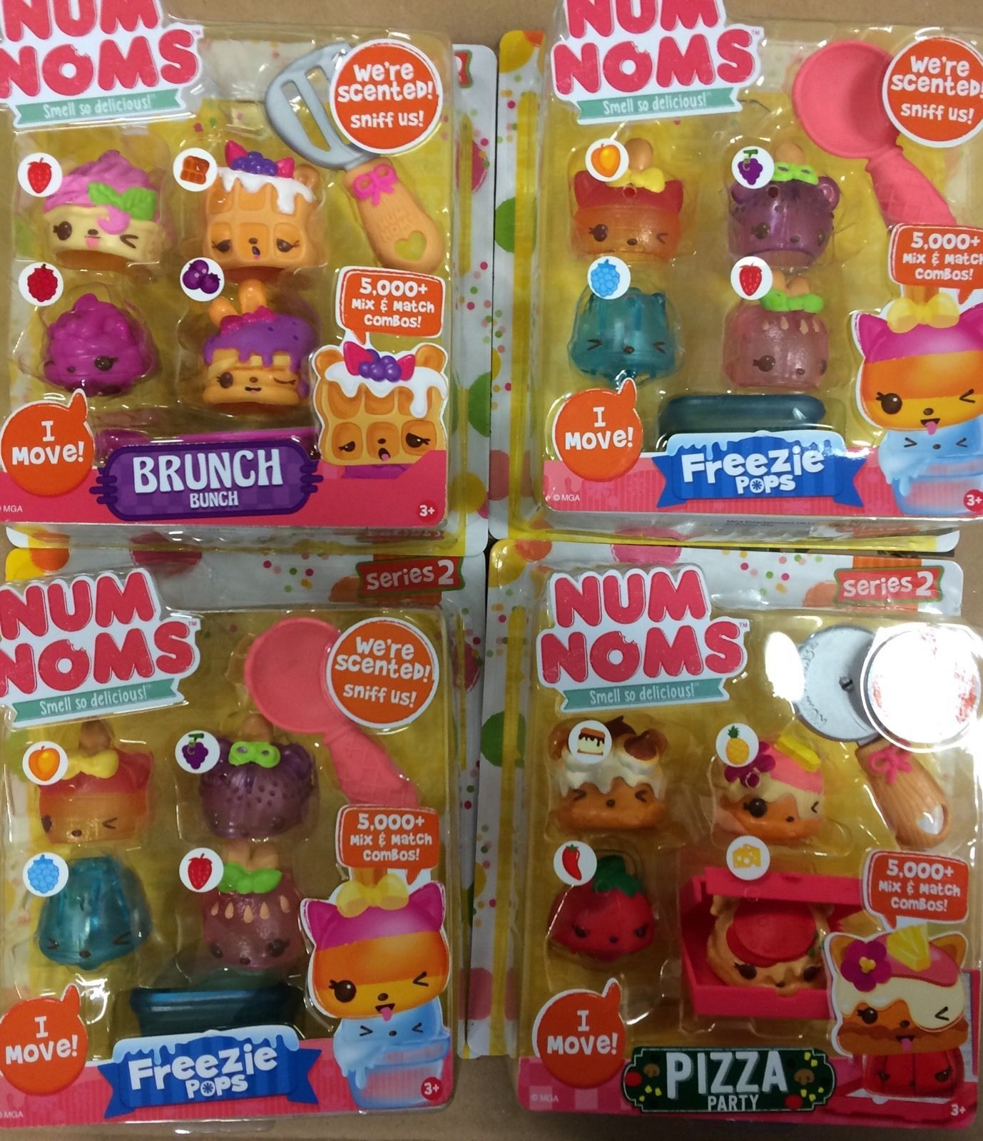 Num Noms Series 2 Scented Assortment Brand New 1 Pack ly in