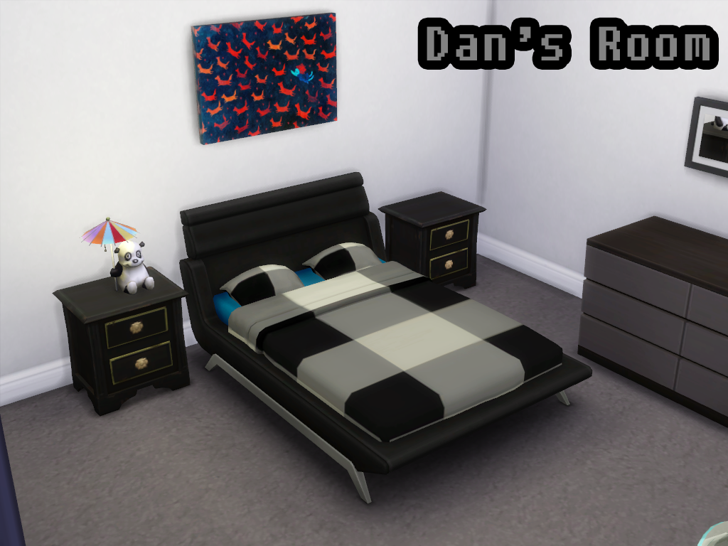 Dan Howell's bed The Sims 4 Sims 4, Sims 4 custom content