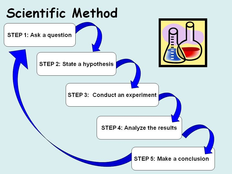 Scientific Method Graphic I Like The Layout But Is Missing