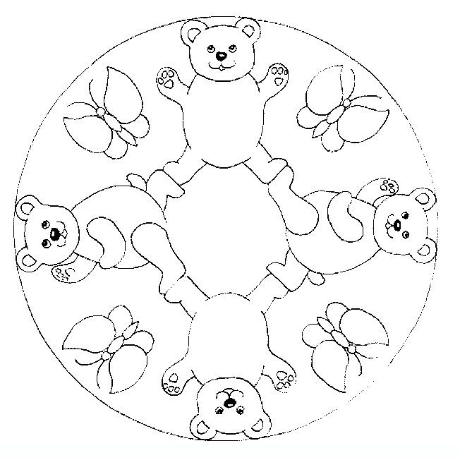 mandala_animals_18 Adult coloring pages