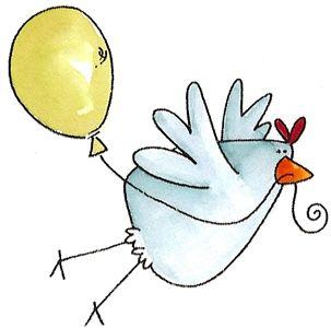 flying balloon chicken