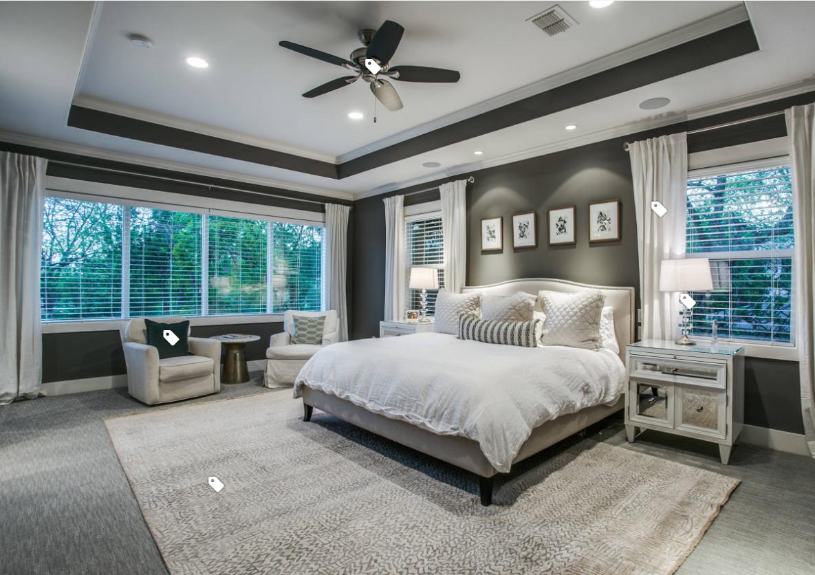 Master Bedroom Inspiration Gray Master Bedroom Transitional