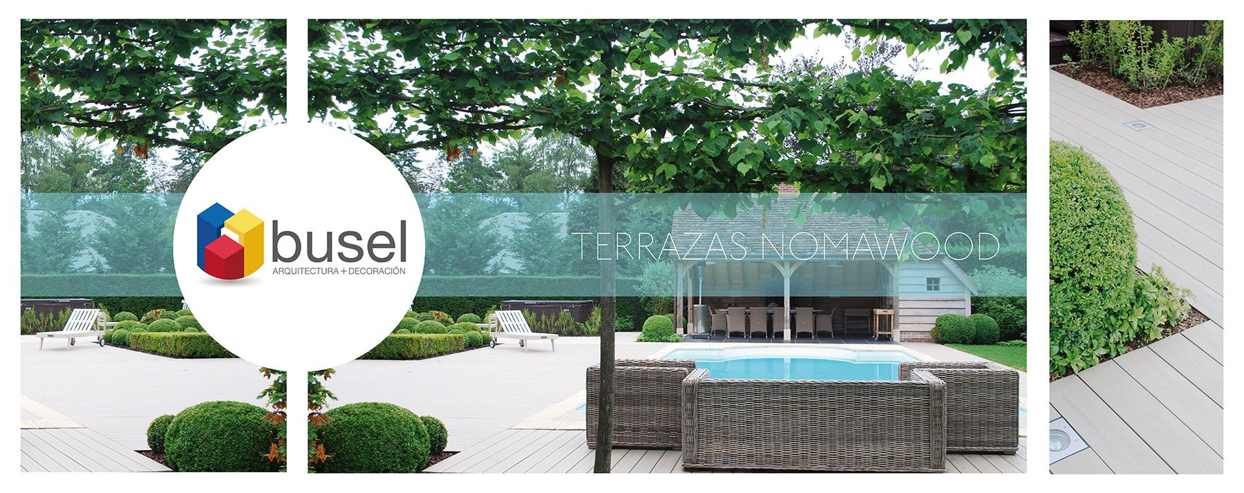 #Terrazas #Nomawood #Arquitectura #Paisajismo #Piscinas #Deck #Verano