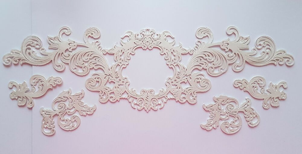 Edible Cake Lace Edible Cake Lace Center Frame Decorative Strip Cake Lace Edible Cake Edible Cake Decorations