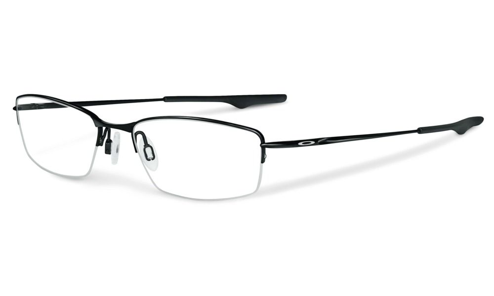 Oakley Wingback in PEWTER / CLEAR frame: 129 mm lens: 52 mm weight ...