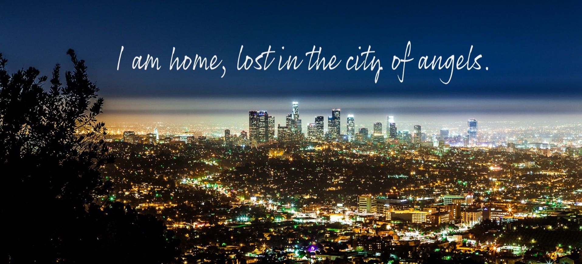 City Of Angels Thirty Seconds To Mars Los Angeles At Night City View Los Angeles Wallpaper
