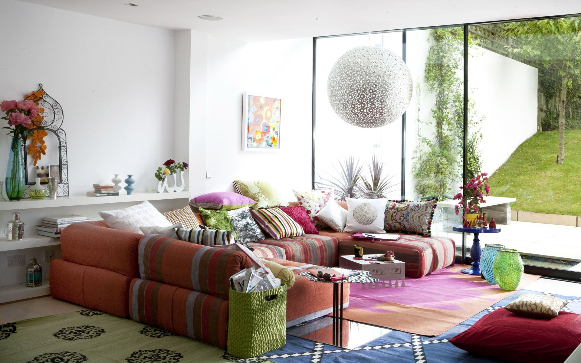 Beautiful Eclectic Living Room Design With Concept Gallery Design ...
