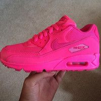 watch 4db5f 8ca56 Almost Sold Out Order soon will not be restocking Custom pink Nike Air Max  90