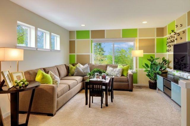 zimmer braun, beige und grün | kinderzimmer gestaltung | pinterest ... - Zimmer Braun