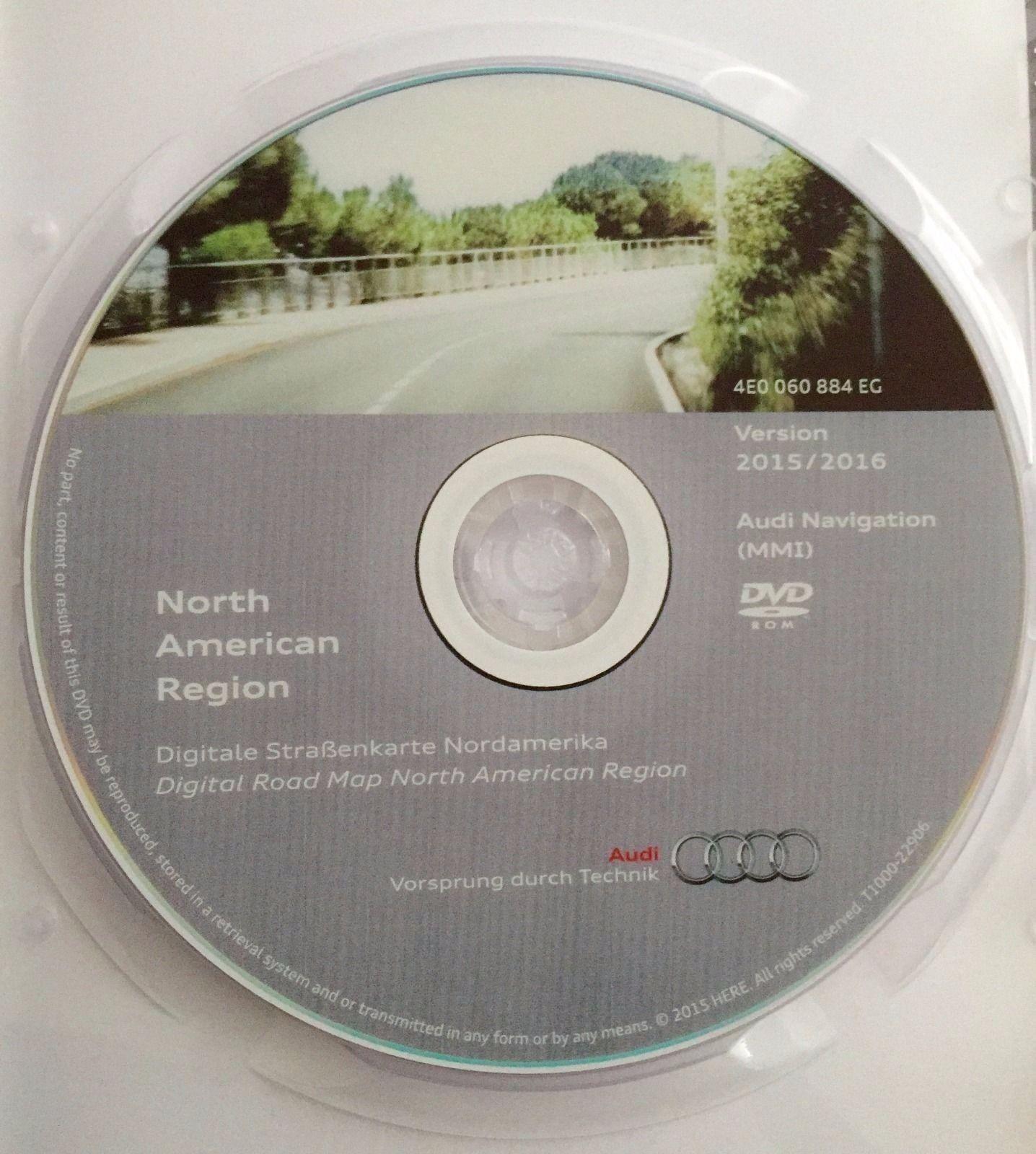 2016 audi mmi 2g navigation software update cd dvd north. Black Bedroom Furniture Sets. Home Design Ideas