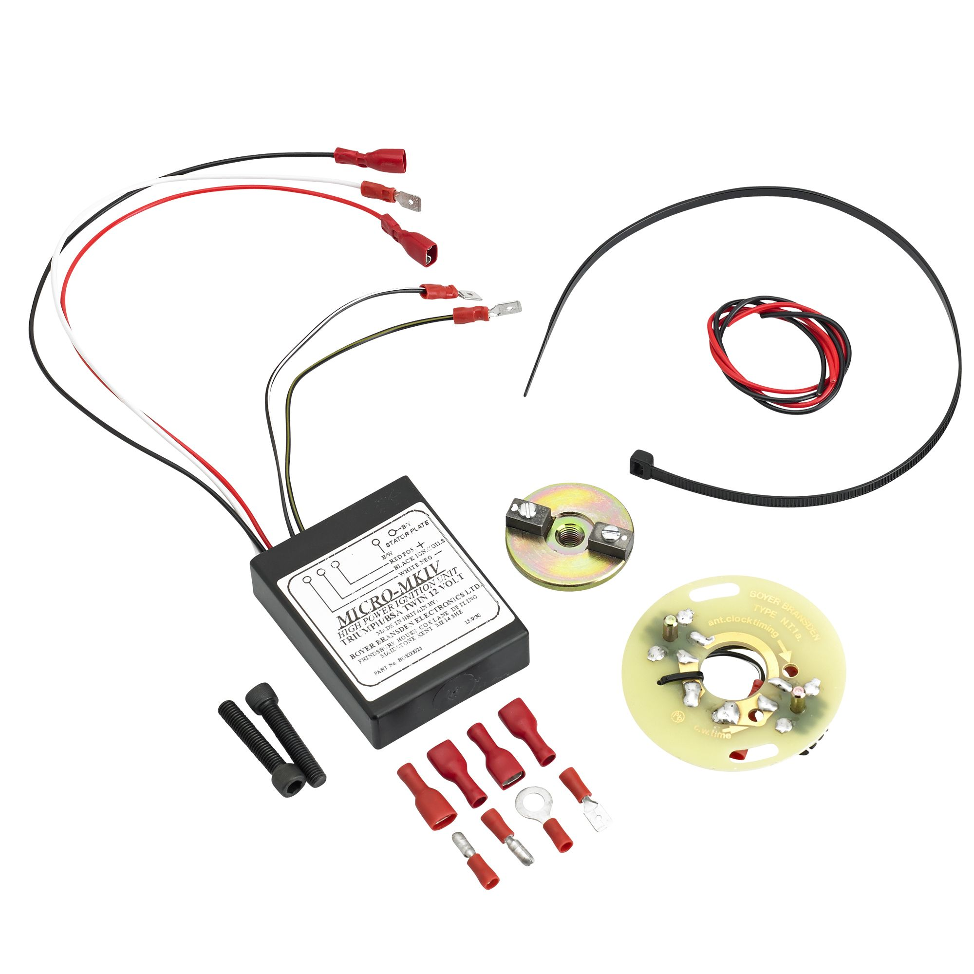 hight resolution of boyer bransden electronic ignition for triumph and bsa motorcycles 500 650 750 c c kit 00052