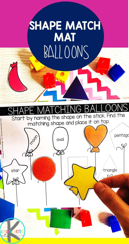 Balloon Shape Activity this free printable activity