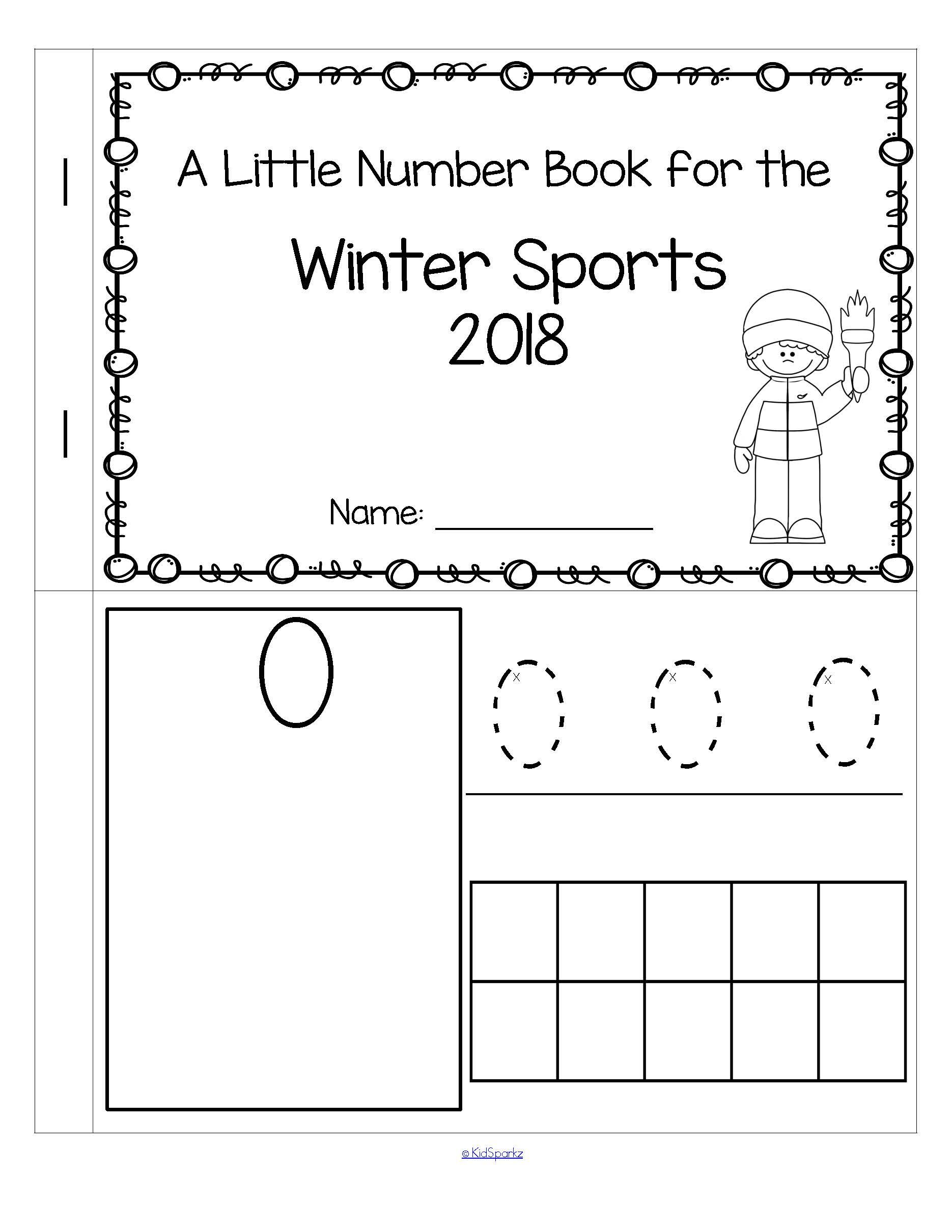 Free This Is A Booklet To Review And Practice Counting And