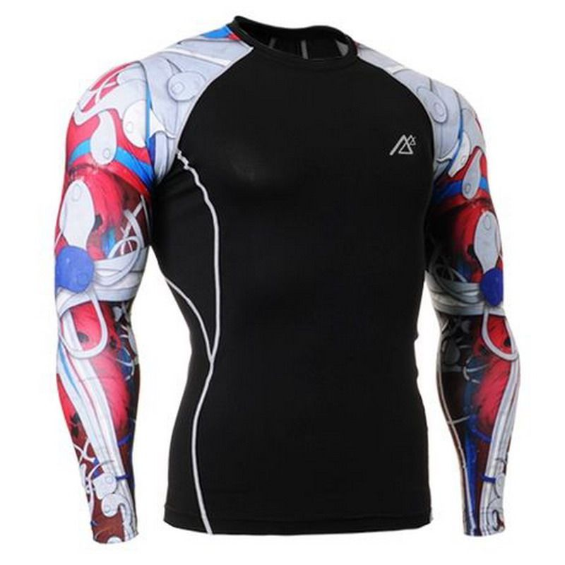 college football compression shirts