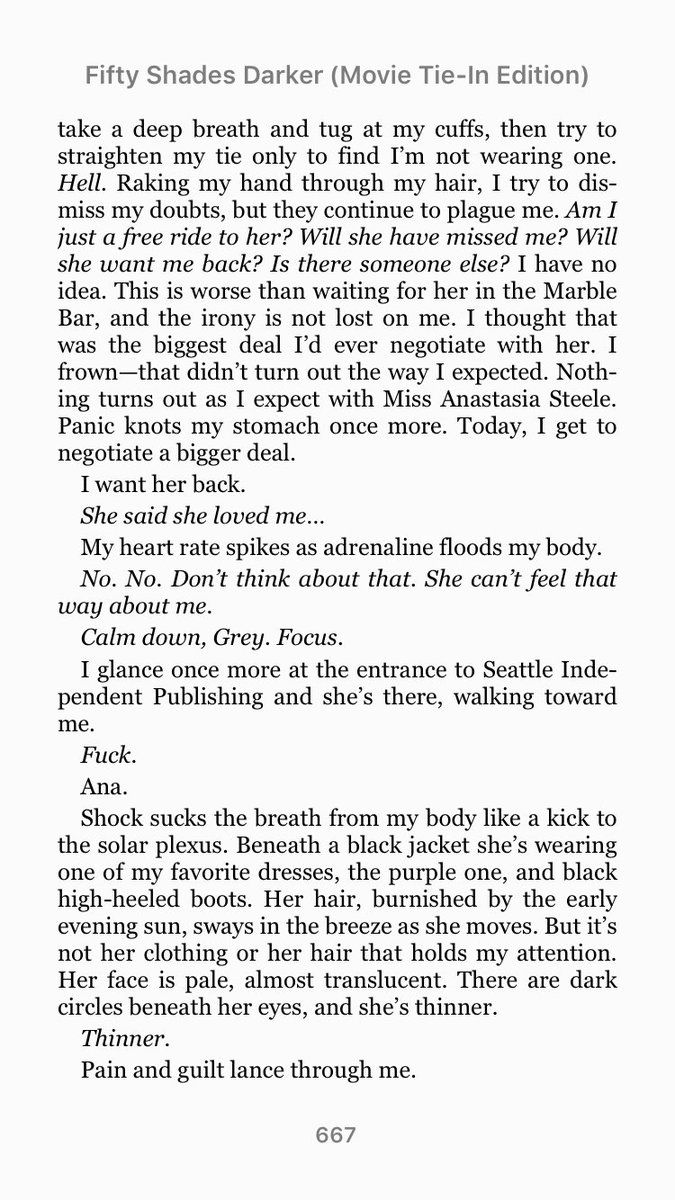 An Excerpt Of Fifty Shades Darker As Told By Christian Grey [part 1]