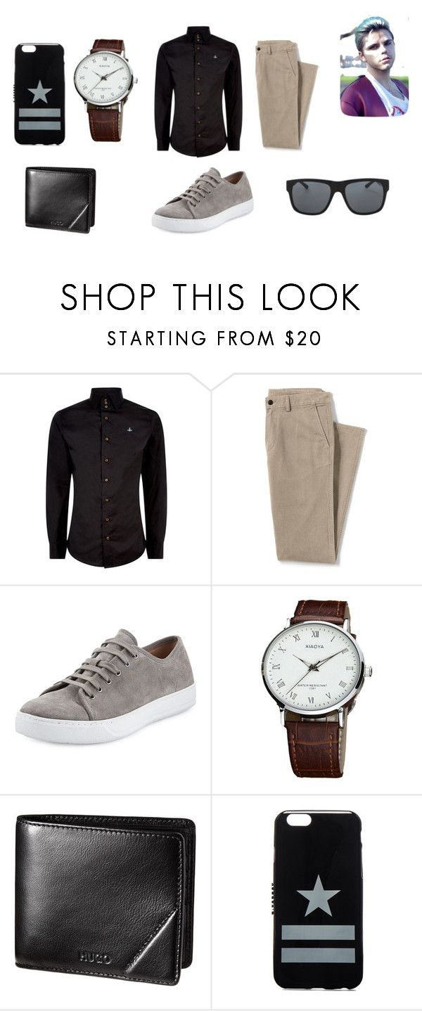 """""""mystery man"""" by matty1167 on Polyvore featuring Vivienne Westwood, Lands' End, Vince, Givenchy and Orlebar Brown"""