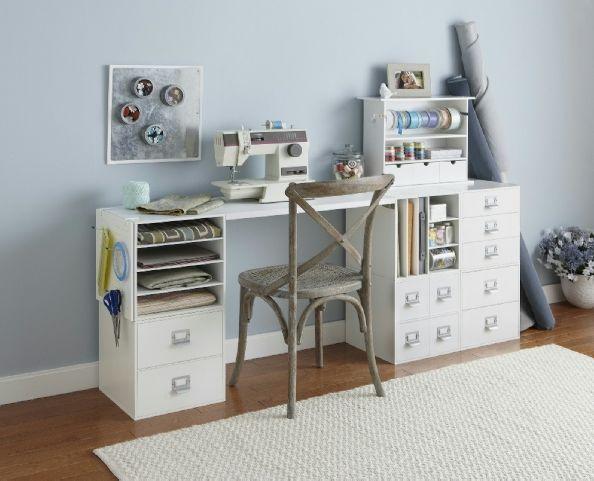 Pin By Elisa Palma Oyarzún On Craft Room 3 Craft Storage Furniture Craft Storage Sewing Desk