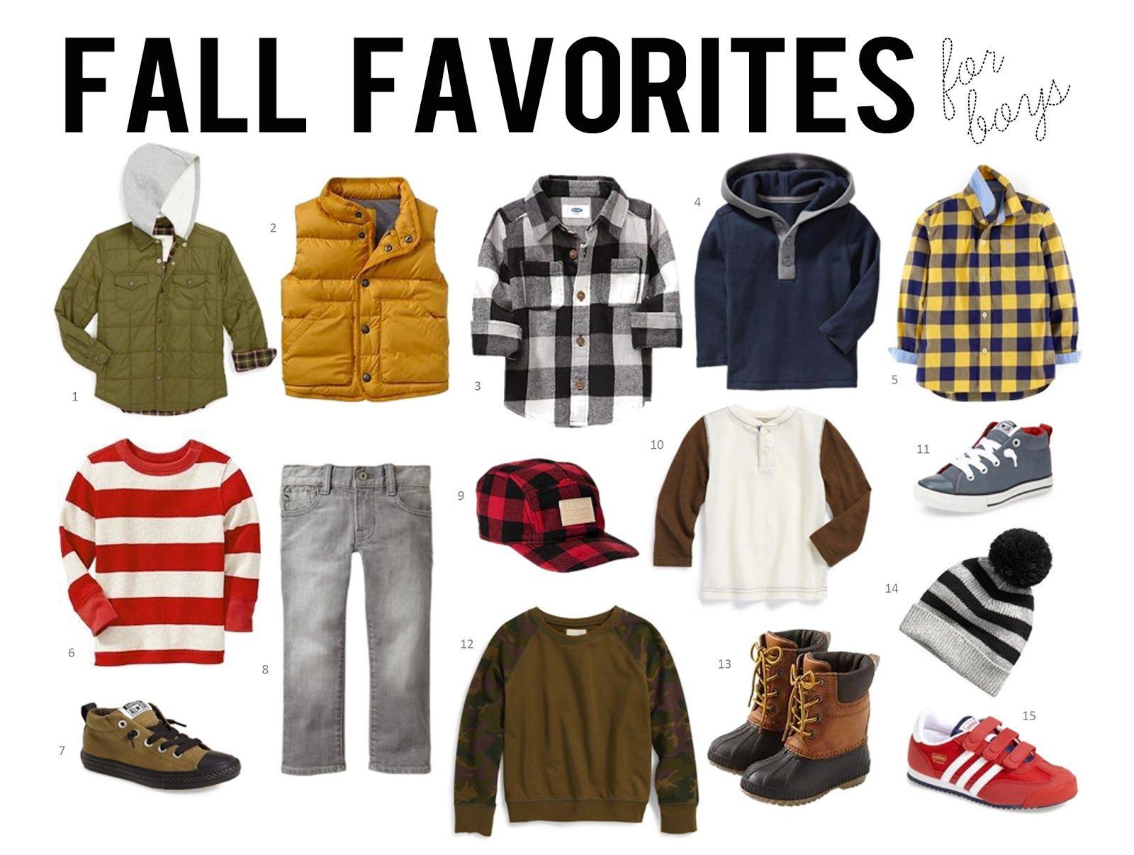 Fall Favorites For Boys l i t t l e g e n t s