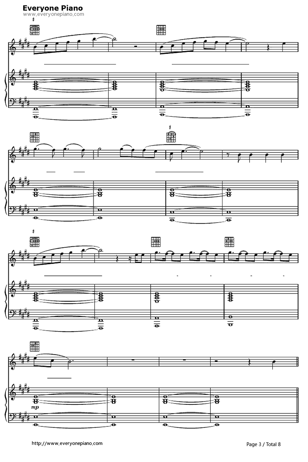 Free lay me down sam smith sheet music preview 3 music free lay me down sam smith sheet music preview 3 hexwebz Choice Image