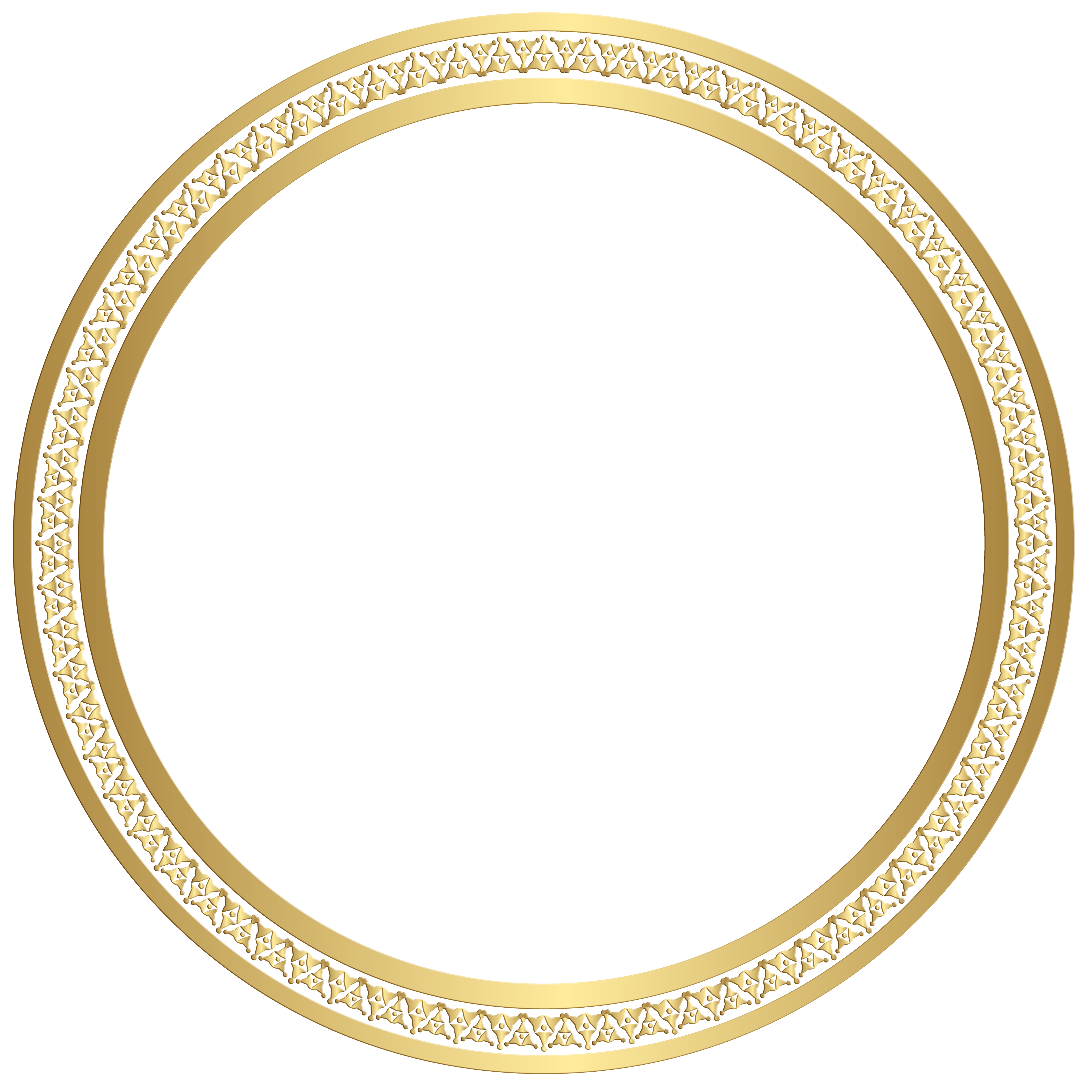 Round Border Frame Gold Clip Art Image Gallery Yopriceville High Quality Images And Transparent Png Free Clipart Gold Clipart Art Images Round Border