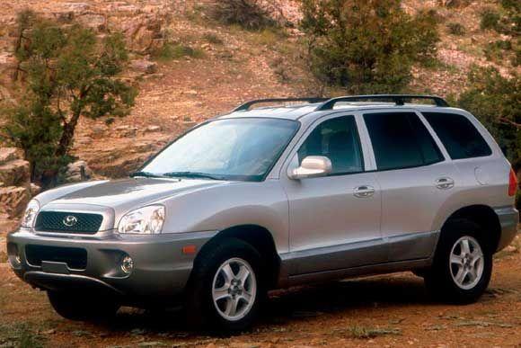 Ficha Técnica Completa Do Hyundai Santa Fe 2.7 V6 2001