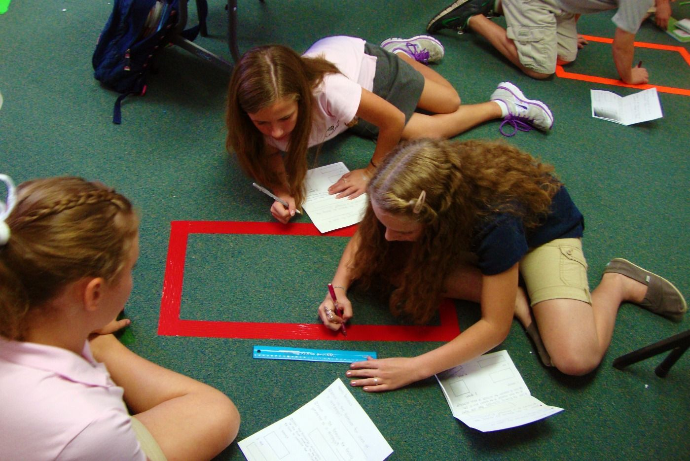 Math N Spire Blog Using Duck Tape To Measure Perimeter