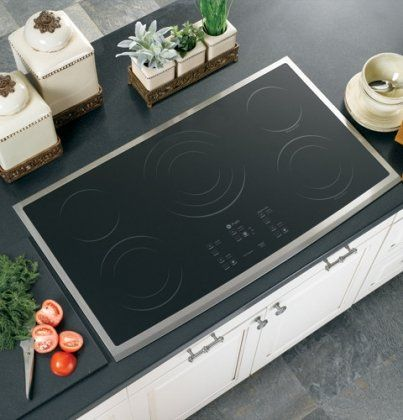 Ge Profile Pp975smss 36 Electric Cooktop Stainless Steel