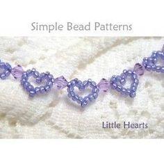 Beaded Heart Pattern Easy Bracelet Making Jewelry Making Tutorial,  #beaded #Bracelet #diybraceletsbeadseasyfreepattern #Easy #Heart #Jewelry #Making #Pattern #Tutorial