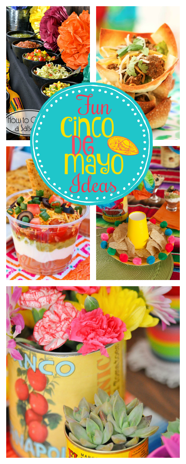 Mexican Themed Party Ideas for Cinco de Mayo u2013 Fun-Squared & Mexican Themed Party Ideas for Cinco de Mayo | Cinco de mayo ...
