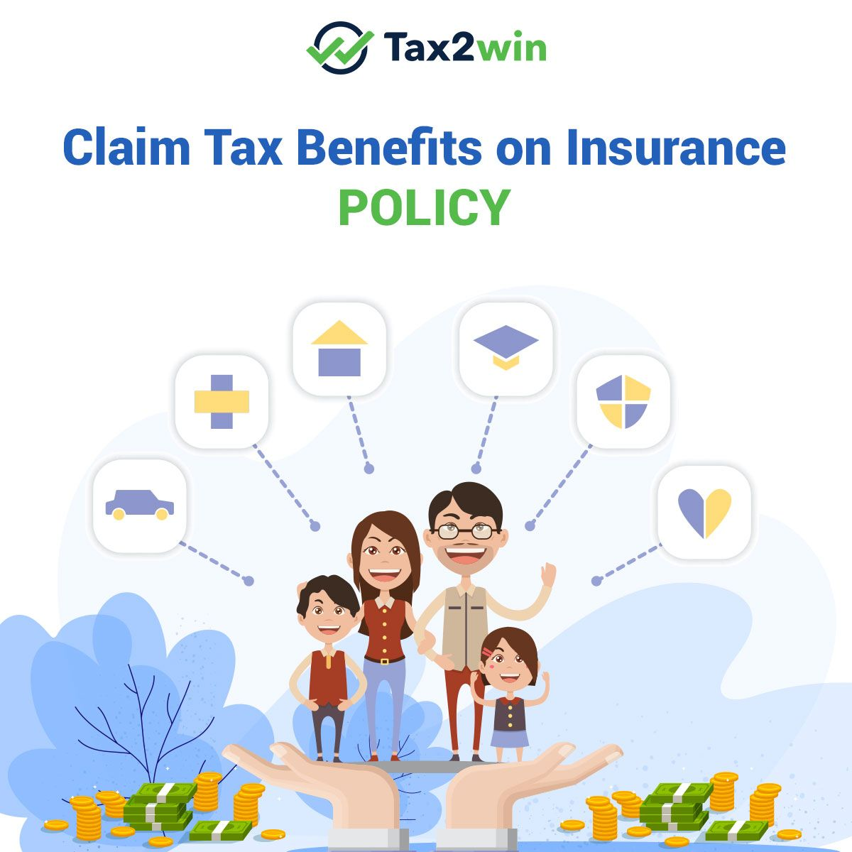 Tax Benefits on Insurance Policies Section 80C etc