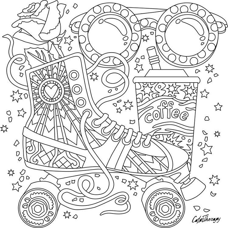 color app coloring pages | Pin by Color Therapy App on Gift Of The Day #GOTD