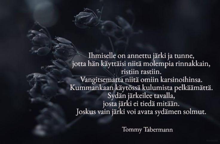 uuden vuoden runo tommy tabermann