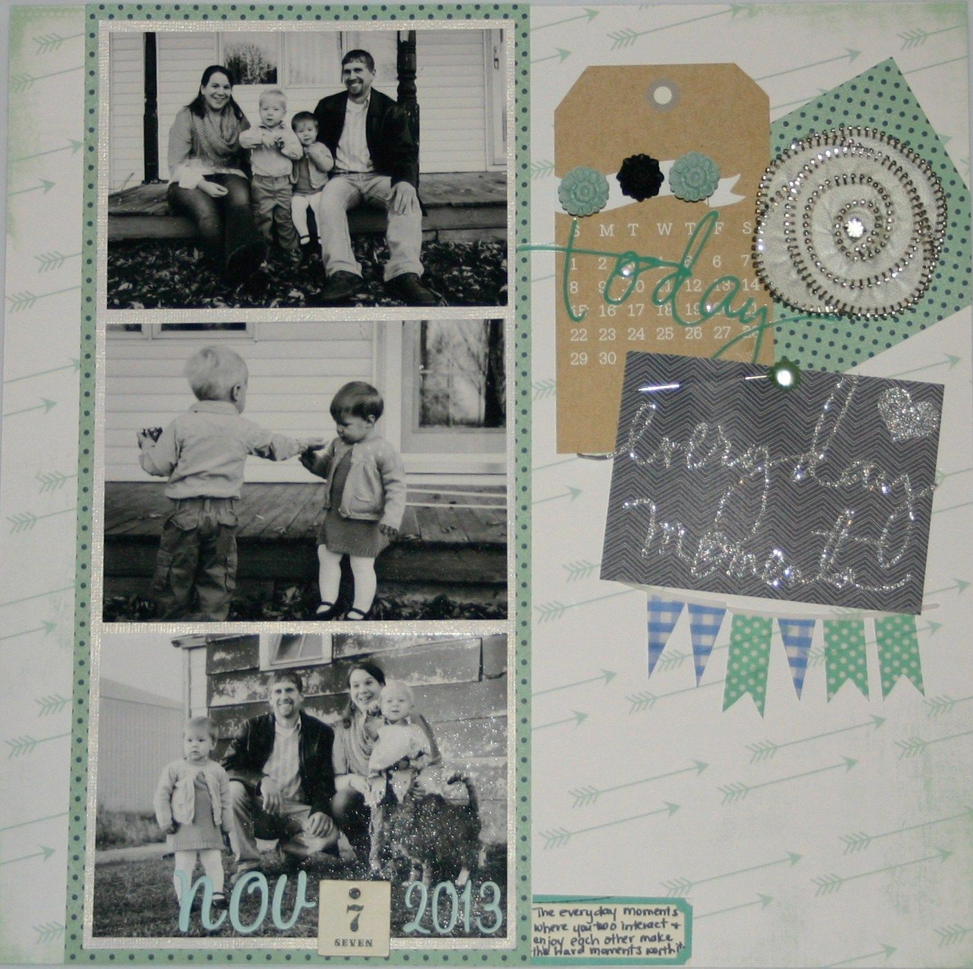Everyday Moments Scrapbook Family & Friends