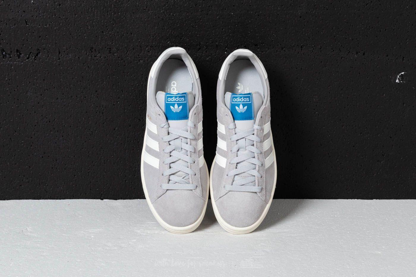 patrón dedo adverbio  adidas Campus Grey Two/ Cloud White/ Chalk White | Footshop | Adidas campus,  Chalk white, Adidas