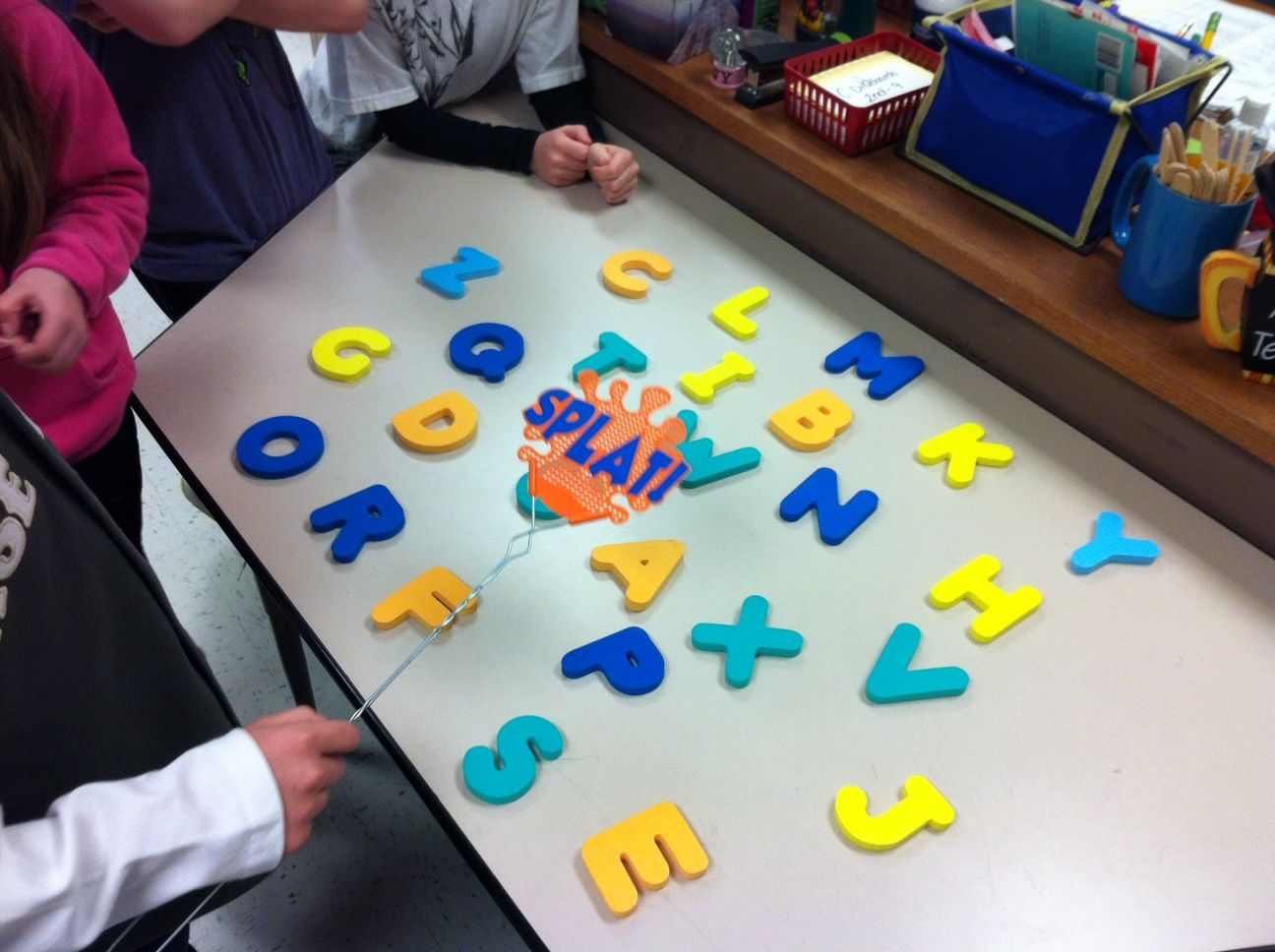 SPELLING CENTER - Use a fly swatter and bathtub letters to slap out ...