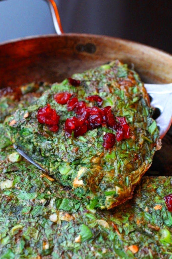koukou sabzi recette nouvel an perse omelette aux herbes miam pinterest coing persan. Black Bedroom Furniture Sets. Home Design Ideas