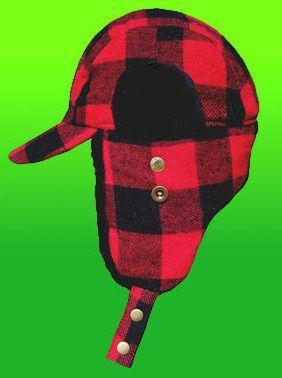 78c5676bbf6eb This is the classic buffalo plaid Elmer Fudd hunting hat in