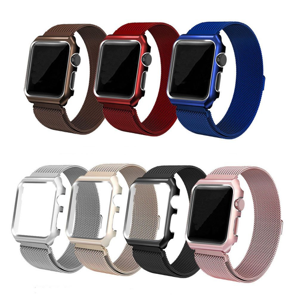 8 54 Milanese Stainless Steel Watch Band Strap Case For Apple Watch Series 3 2 1 Ebay Fashion Apple Watch Wristbands Watch Bands Apple Watch Bands