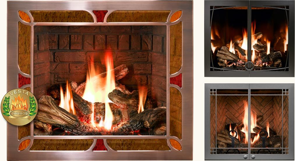 Mendota Hearth Fireplace Industrial Product Design Fireplace