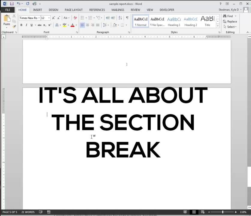 Designing Reports in Microsoft Word BUS 358 Pinterest