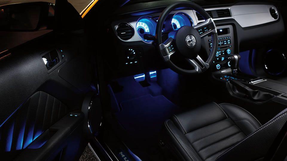 for 2012 mustang interior lights