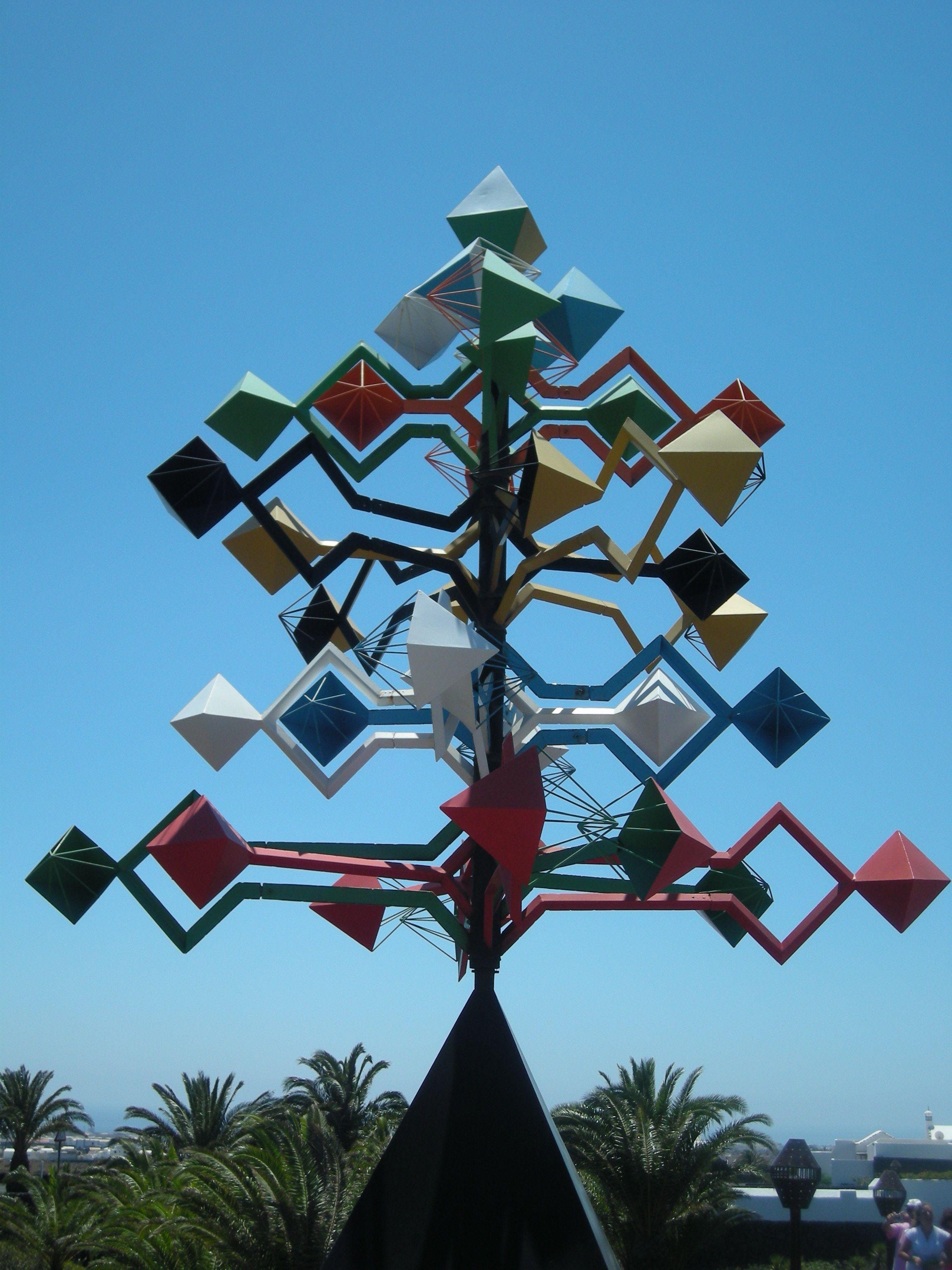 Wind Sculpture By Cesar Manrique Cesar Manrique Foundation Prev  # Muebles Kitea Lanzarote